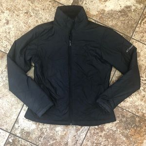 Women's Columbia lightly quilted black jacket Sz M
